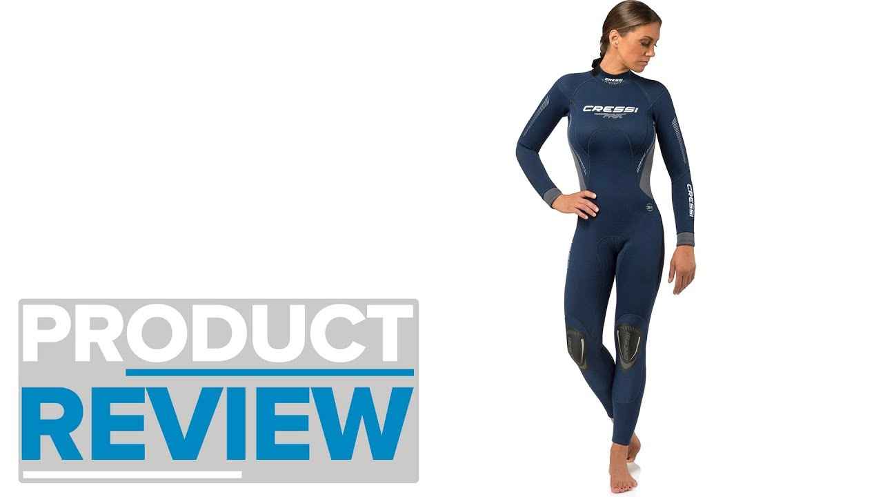 1dfdc85de594 Cressi Fast Womens 3MM Wetsuit Review - YouTube