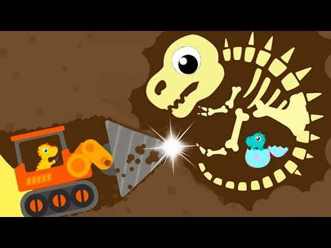 Dinosaur Digger 3 - The Truck Kids Game - Play Fun Dinosaur Digger 3 Game For Kids
