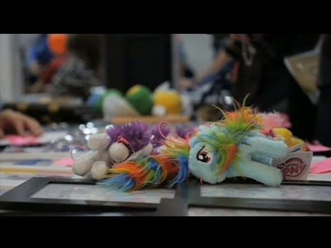 BRONIES - ADULT MEN WHO LOVE MY LITTLE PONY - BBC NEWS from YouTube · Duration:  4 minutes 11 seconds