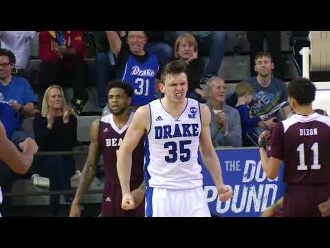 HIGHLIGHTS: Drake Men's Basketball vs. Missouri State