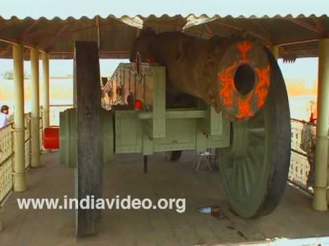 The Jai Ban canon in Canon Foundry at Jaigarh Fort, Jaipur