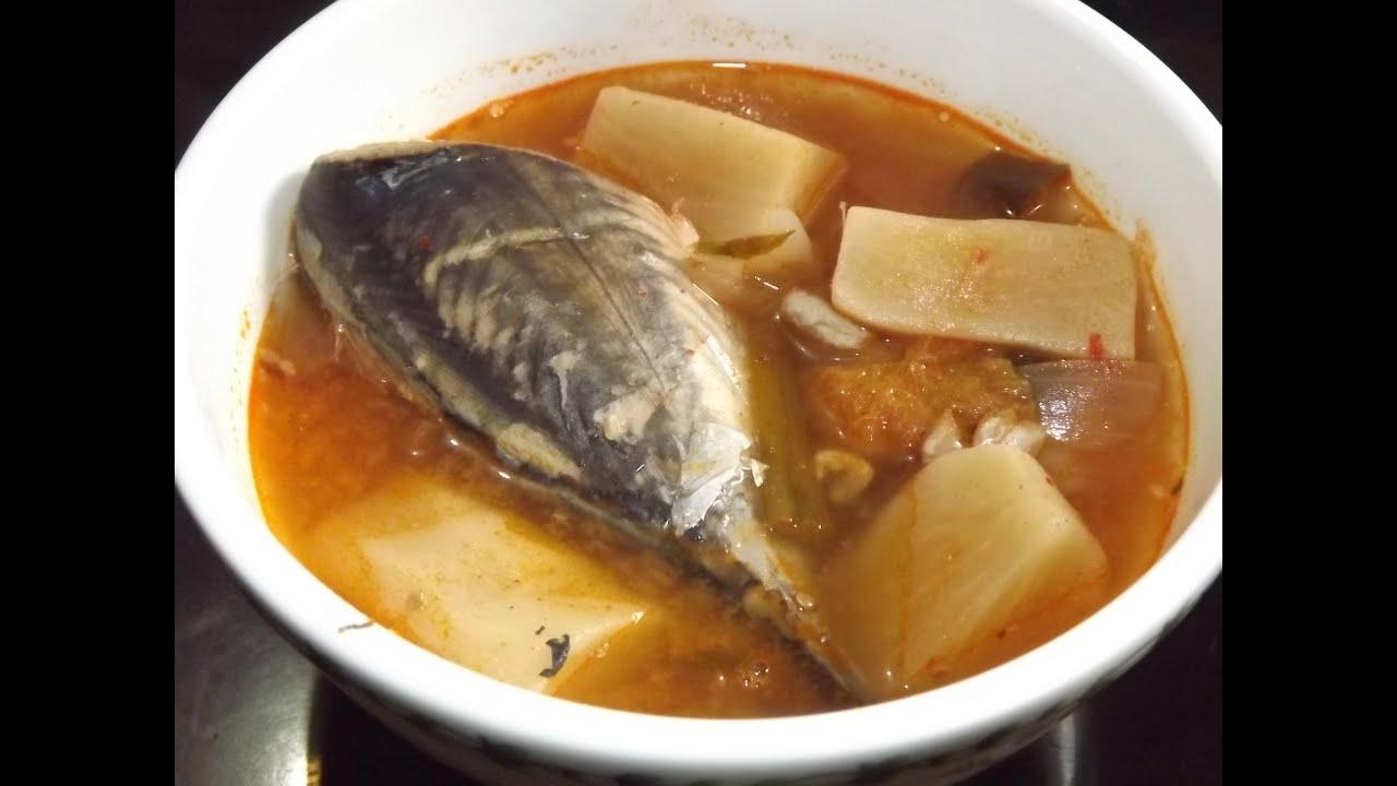 How to make kimchi soup with tuna