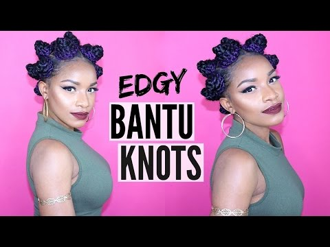 How to | Bantu Knots With Extensions (Natural Hair)