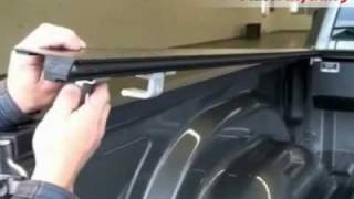 Installing The Rail Clamps For The Pace Edwards Jack Rabbit Truck Bed Tonneau Cover