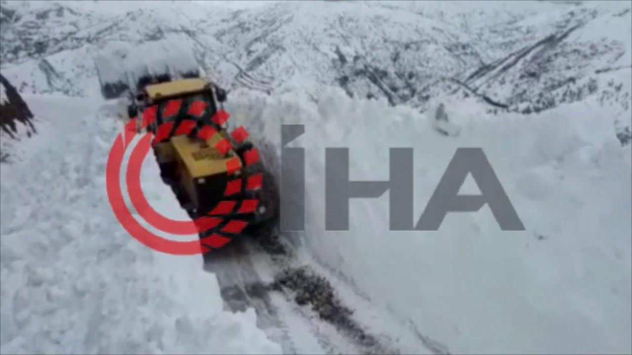 Adıyaman'da kar nedeniyle 484 yerleşim birimine ulaşılamıyo