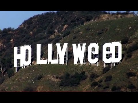 Hollywood Sign Turned into Hollyweed