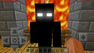 I FOUND the NEW HEROBRINE in Minecraft Pocket Edition (NEW MINECRAFT HEROBRINE)