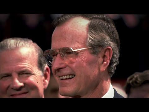 Former President George H.W. Bush Remembered With Tributes Across The U.S. | NBC Nightly News