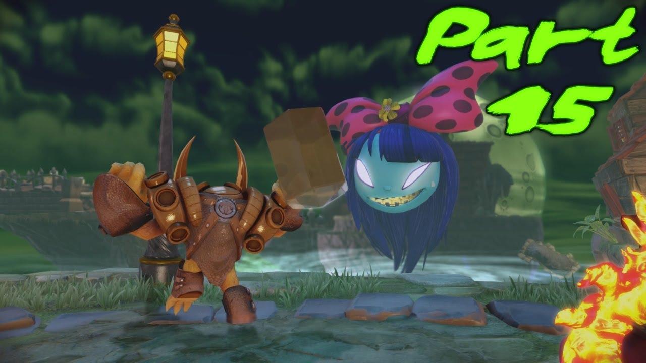 Skylanders trap team gameplay walkthrough part 15 the dream