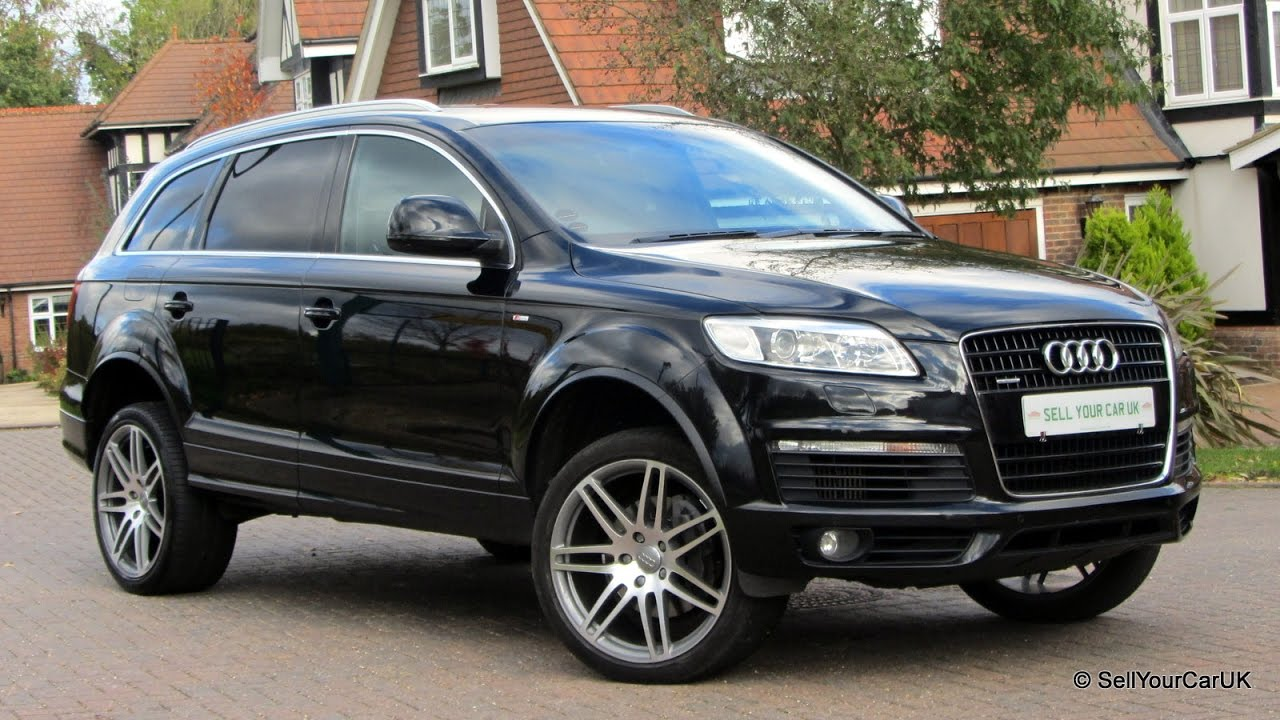 SOLD IN WEEKS EXCLUSIVELY USING SELL YOUR CAR UK Audi Q TDI - Audi q7 for sale