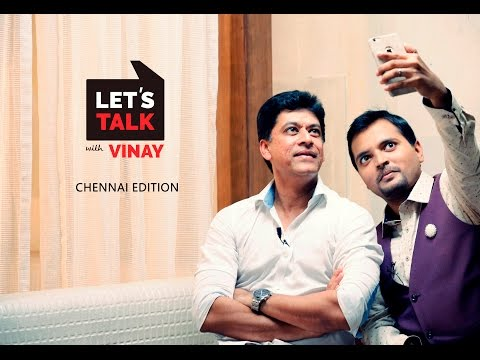 Let's Talk with Vinay I DRA Homes I Chennai Edition I Ep 2 I G Venket Ram I Fashion Photographer