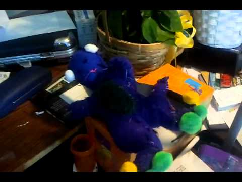 Byg Doll I Know Face Isnt Great YouTube - Barney and friends backyard gang doll