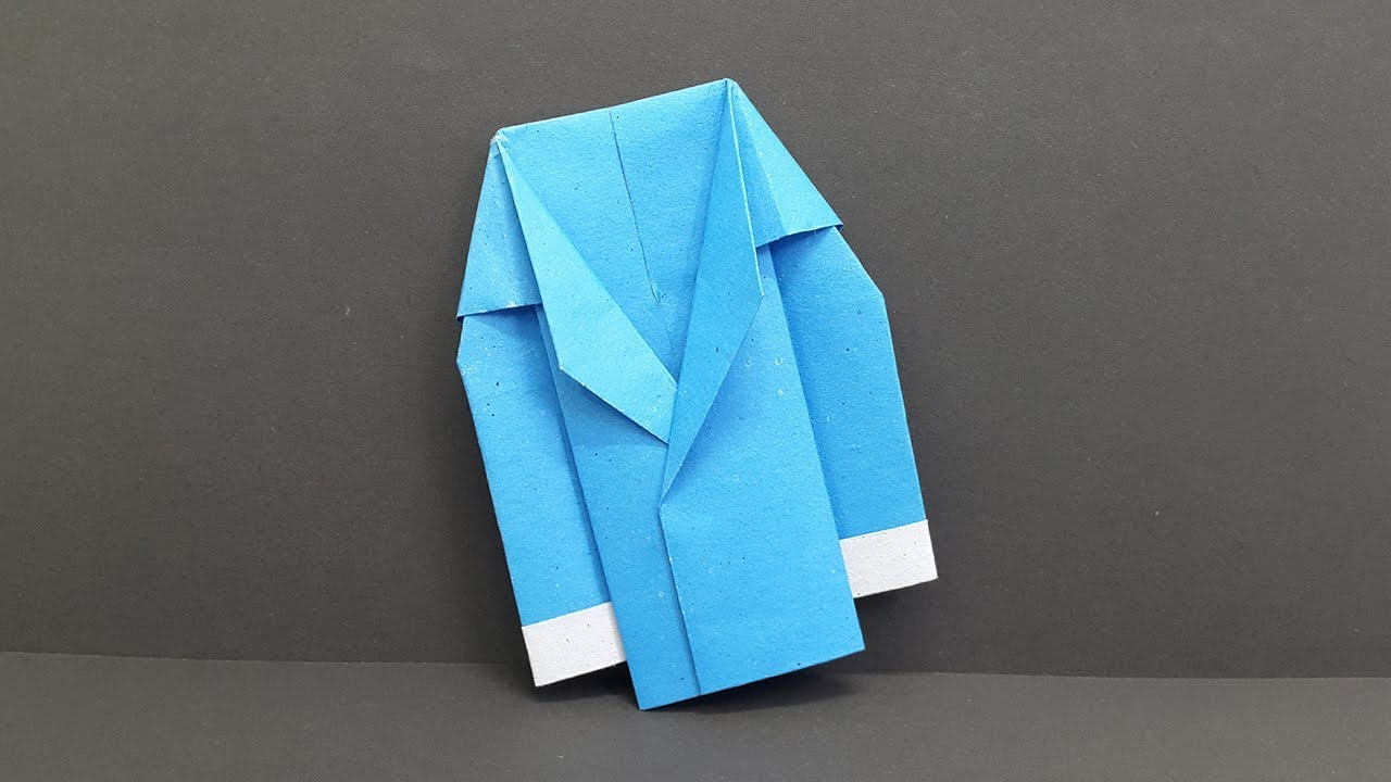 How To Make A Paper Coat Suit Jacket