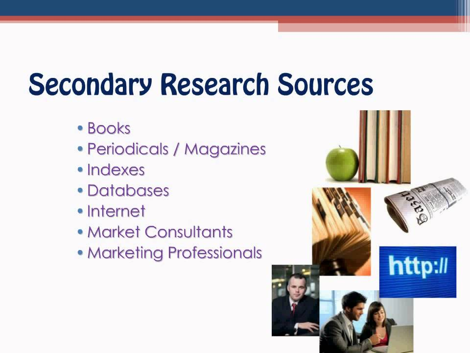 secondary marketing research Market research vendors of secondary market research browse providers of research based on the analysis of information obtained from existing publications and published data such as news.