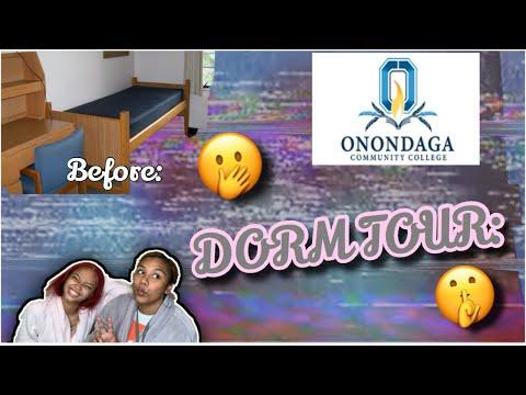 BESTIE DORM TOUR!!!! (Onondaga Community College)