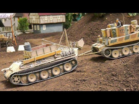 STUNNING DETAILED RC SCALE TANKS, RC MODEL MILITARY VEHICLES