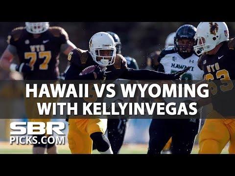 NCAAF Picks   Night Cap with KellyInVegas   Hawaii vs Wyoming