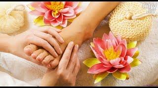 Рефлекторный массаж стоп: воздействие активных точек на организм человека