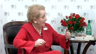 "Madeleine Albright: Prague Winter ""A Personal Story of Remembrance and War"""