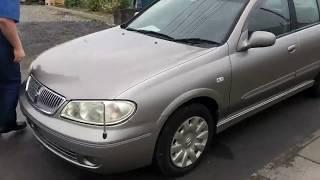 Видео-тест автомобиля Nissan Bluebird Sylphy (серебро, QG10-172345, Qg18de, 2004г)