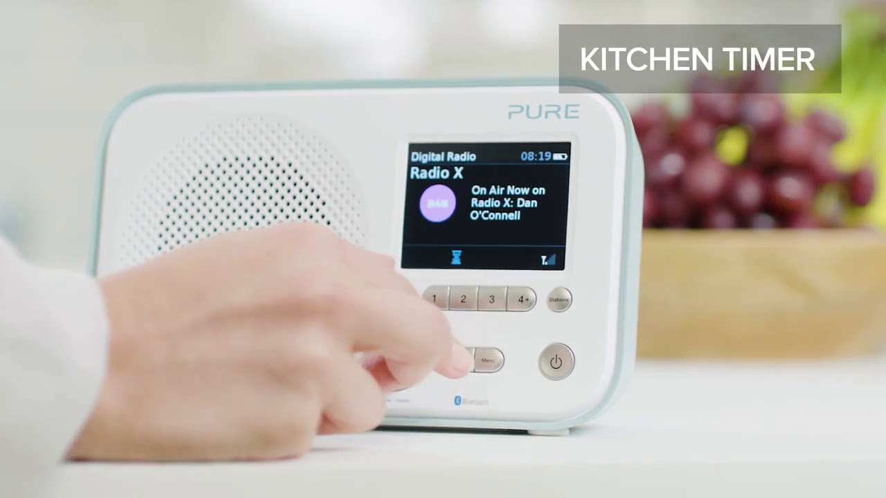 Pure Elan BT3 : Radio FM / RNT portable avec Bluetooth - Cobra.fr ...