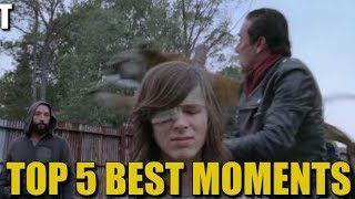 The Walking Dead Best Moments Top 5 Best Moments Of TWD