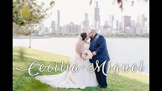 Windy City Wedding Chicago, IL│Cecilia+Miguel