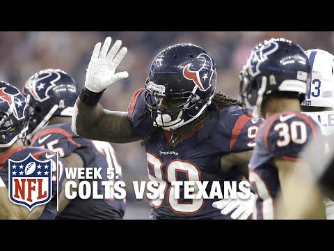 Jadeveon Clowney Blows Through the Colts Line | Colts vs. Texans | NFL