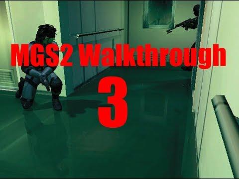 MGS2 HD Walkthrough/Story - Tanker Ending (Part 3)