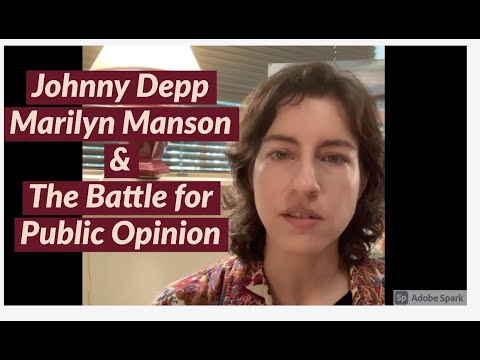 Johnny Depp & Marilyn Manson Discussion Part 1: The Battle f