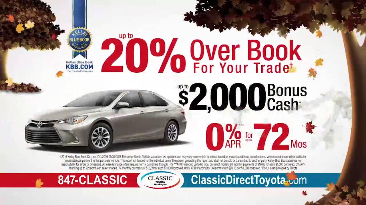 Fall Classic at Classic Toyota in Waukegan! - YouTube