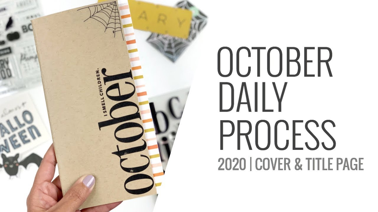 October Daily 2020 | Cover & Title Page