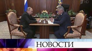 Сергей Шойгу доложил президенту РФ о причинах трагедии в Баренцевом море.