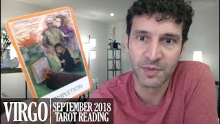 VIRGO September 2018 - Extended Monthly Intuitive Tarot Reading by Nicholas Ashbaugh
