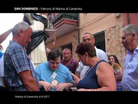 """Reportage """"San Domenico""""  Patrono di Marina di Camerota 04.08.2017"""