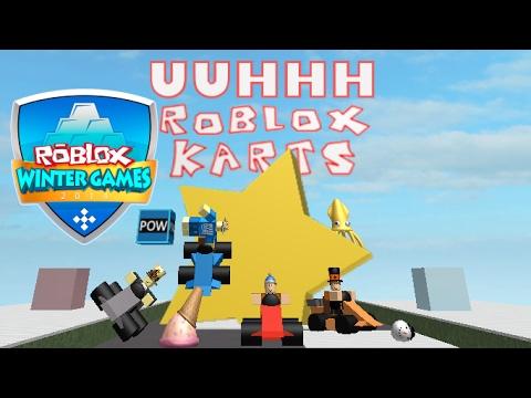 Roblox Kart Winter Games 2014 Roblox Death Sound Parody Youtube