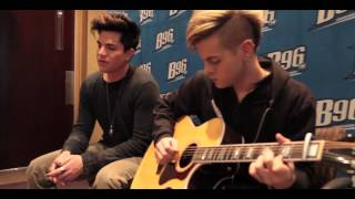 Adam Lambert - Better Than I Know Myself, live @ B96 Radio, Chicago, IL, 2012-03-16