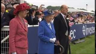 Katherine Jenkins - National Anthem God Save The Queen (Epsom Derby) Queens Diamond Jubilee