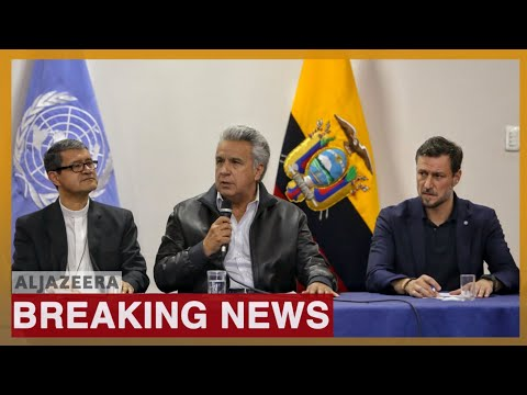 Ecuador's Moreno, indigenous groups reach deal to end protests