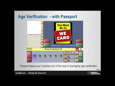 Passport Age Verification Training