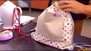 Mochila Pré-Escolar – Costura com Riera Alta