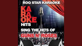 November Rain (Originally Performed by Guns N' Roses) (Karaoke Version)