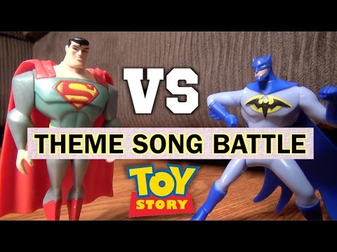 Batman Vs Superman Theme Song | Toy Story 4 Parody | Woody Buzz Lightyear Spider-Man