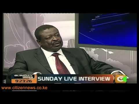 Sunday Live Interview with Musalia Mudavadi