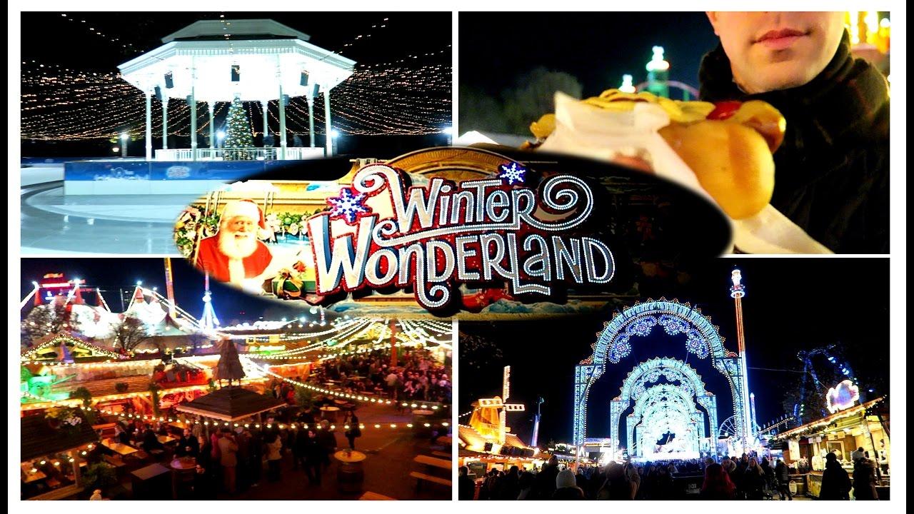 winter wonderland hyde park london 2016 vlog youtube