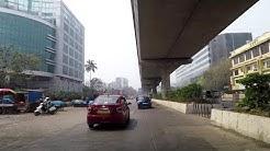 Driving in Mumbai (Andheri East) - Maharashtra, India