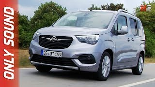 New opel combo life 2019 - first test drive only sound