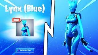 New BLUE LYNX Skin UNLOCKED in Fortnite.. How to Get FREE Blue Lynx Skin FAST & EASY in Fortnite!