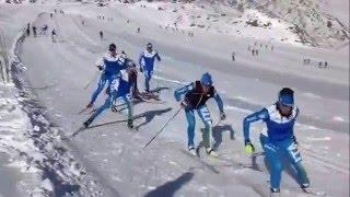 Le donne del fondo di Cdm si allenano in Val Senales