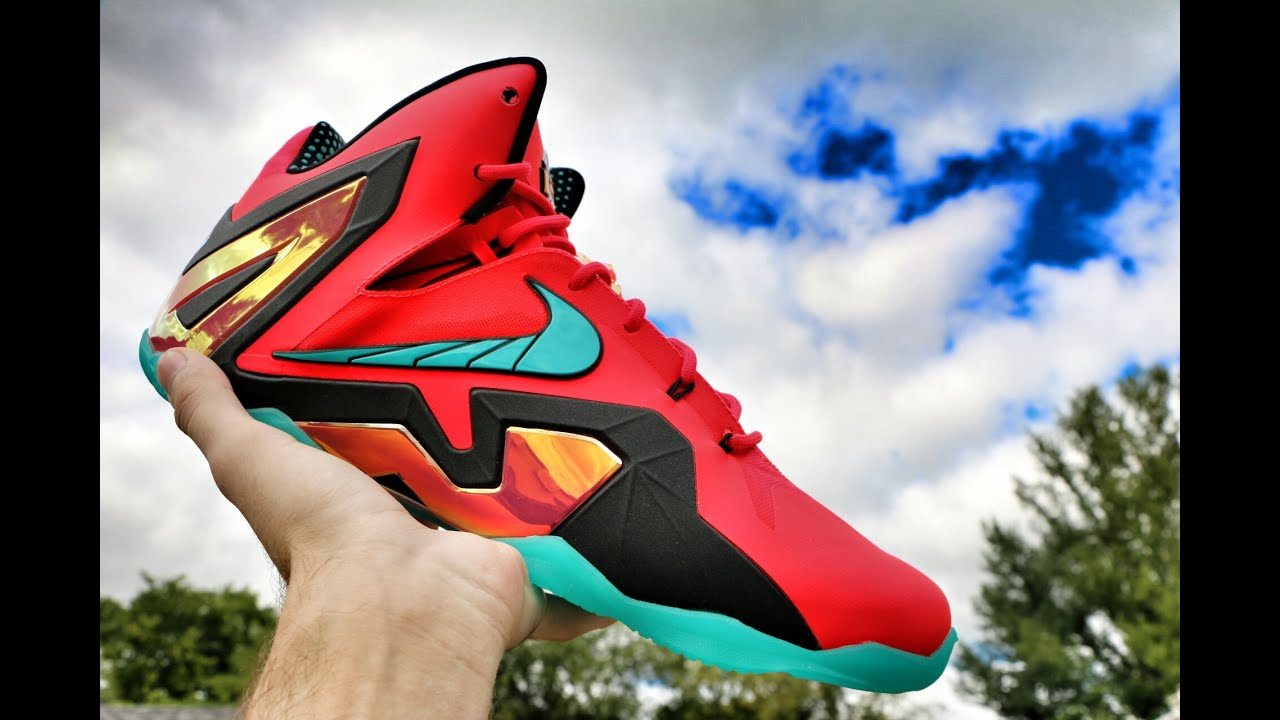 81bb282e196 Nike LeBron 11 Elite Hero - Review + On Foot - YouTube